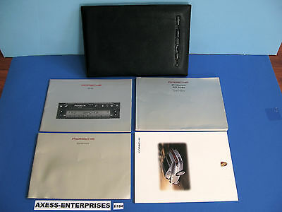 1997 Porsche 993 911 Carrera 4 C4S Turbo Coupe Cabriolet Owner Manuals Pack H194