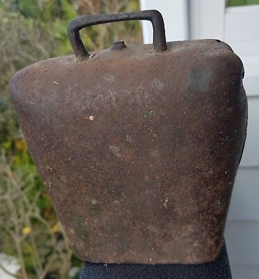 Extra Large  AUSTRALIAN ORMOND CONDAMINE  BULL FROG  COW BELL COWBELL Jones
