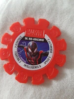 woolworths MARVEL HEROES SUPER DISK #06 - KID ARACHNID safeway RARE authentic 06