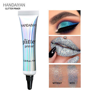 Easy To Wear Natural Glitter Eyeshadow Primer Makeup Fix Gel Eye Makeup Cream