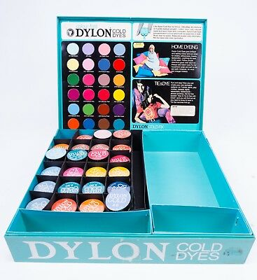 DYLON® Colour Fast Cold Dyes Clothes Fabric Dye (Each Pack 200-250g Material)
