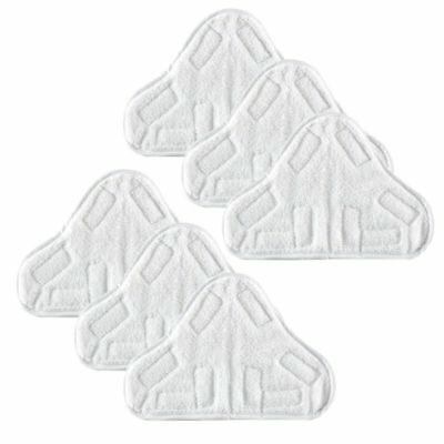 6X Microfibre Washable Cloth Pads to fit for Vax Bionaire Efbe-Schotte Montiss