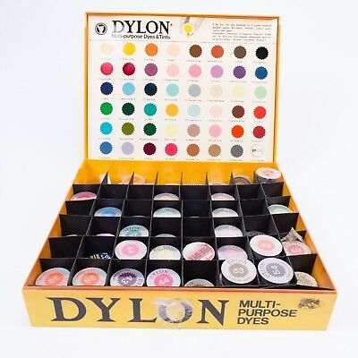 DYLON® Multi Purpose Clothes Fabric Dye & Tints (Each Dyes 200-250g of Material)