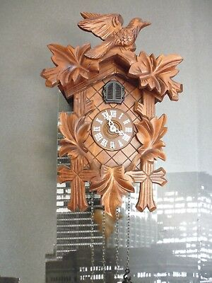black forest cuckoo clock kaiser ex con, large