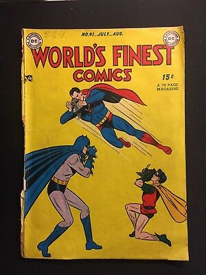DC Worlds Finest Comics #41 1941