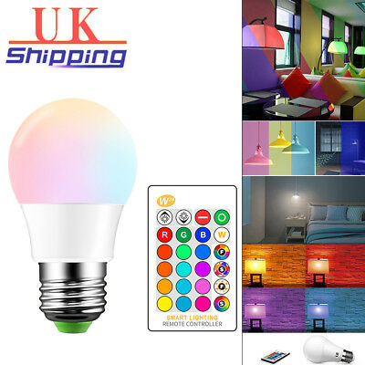 5W 10W 15W E27 LED RGB Bulb 16color Changing Dimmable Memory With Remote Control