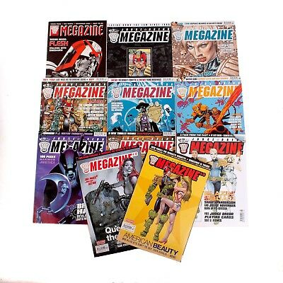 Bundle Of 11 2000AD Mega-zine Comics - Judge Dredd - Mixed Issues  - Mixed Years