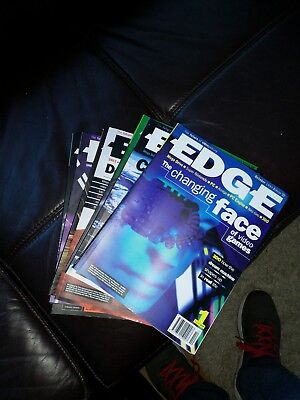 EDGE videogame magazines - issues 1 - 7, 9 - 14