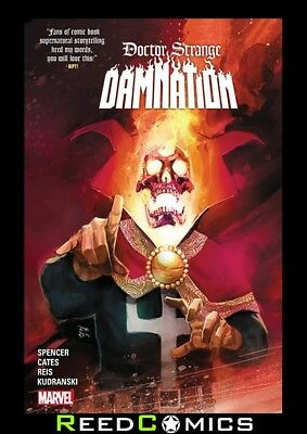DOCTOR STRANGE DAMNATION GRAPHIC NOVEL New Paperback Collects 4 Part Series