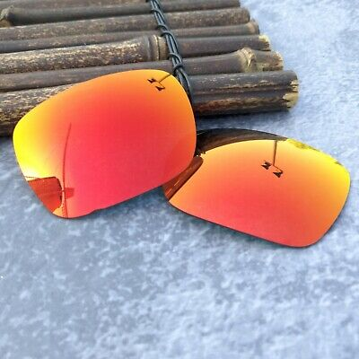8adbeb3264 LensOcean Polarized Replacement lenses for-Oakley Jupiter Squared - Fire Red