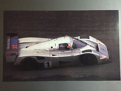 1991 Mercedes Group C 24 Hours of Le Mans Print, Picture, Poster RARE!! Awesome