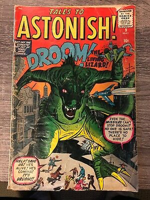 TALES TO ASTONISH #9 1960, Fair- Some Damage