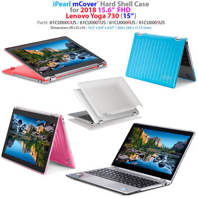 "NEW mCover® Hard Case for 2018 15.6"" Lenovo Yoga 730 (15) 2-in-1 Laptop"