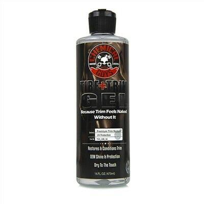 Chemical Guys New Look Black Forever Tyre & Trim Gel Shines, Protects 473ml/16oz