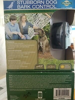 Petsafe HBC11-14014 Rechargeable Bark Control Collar, New in sealed box