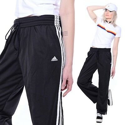 04f899059dae5 VTG 90S MENS ADIDAS Sporty Striped Hip-Hop Track Warm-Up Sweatpants ...
