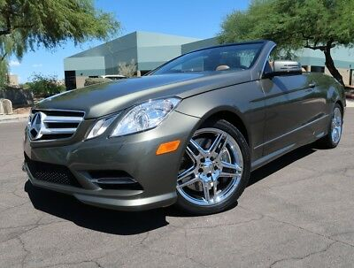 2013 Mercedes-Benz E-Class E550 Cabriolet Premium 1 Pack Heated Seats Keyless Chrome Whls convertible 2012 2014 e350 e550