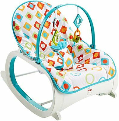 Fisher-Price CMP83 Infant-to-toddler Rocker - Geo Diamonds Baby Bouncing Chair