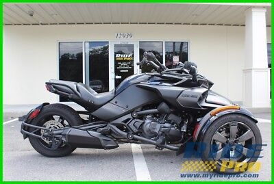 2016 Can-Am Spyder F3  2016 Can-Am Spyder F3 S Special Series TRIKE SPORT MATTE BLACK AUTOMATIC