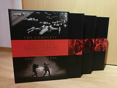 The complete STAR WARS Encyclopedia Steve Sansweet Pablo Hidalgo Lexica Lexikon