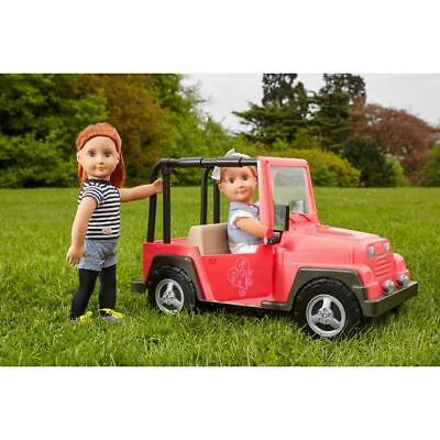 Our Generation 4X4 Jeep Truck Vehicle Car Dolls Accessory Toy Play Set For Kids