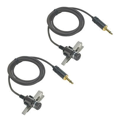 Audio Technica Cardioid Condenser Lavalier Microphone for PRO-88 (2 Pack)