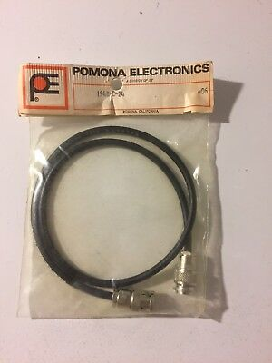 Pomona Electronics 1948-C-24 BNC Cable Plug Connector