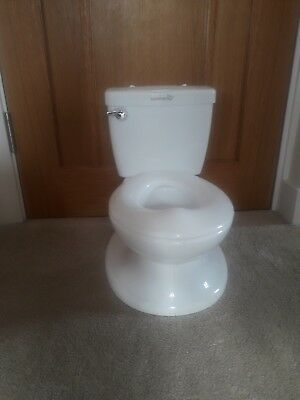 Summer infant my size Potty Toilet White  * COLLECTION ONLY *