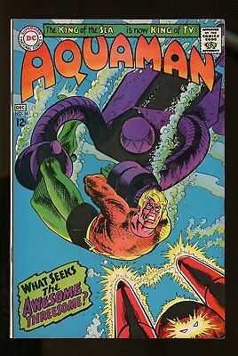 AQUAMAN #36 VERY FINE/ NEAR MINT 9.0 1967 DC COMICS #stp-401