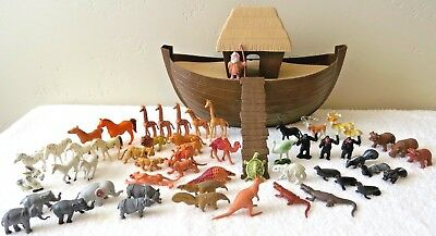Vintage Arco Noah's Ark And Animals
