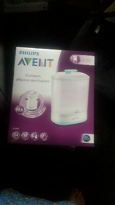 Brand New Philips Avent 2 In 1 Electric Steam Steriliser Compact Effective