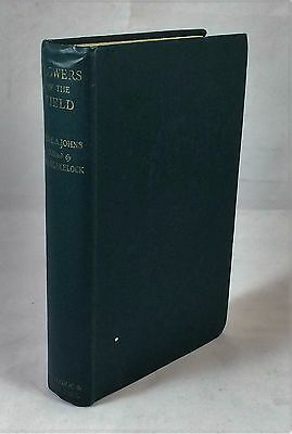 Flowers of the Field - Rev CA Johns 1949 Revised Edition Color Plates