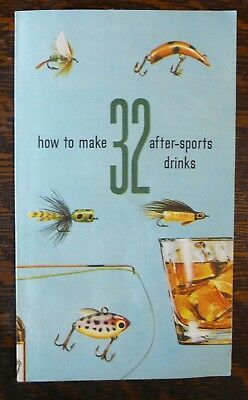 How to Make 32 After-Sports Drinks Pamphlet Southern Comfort Cocktail Recipes