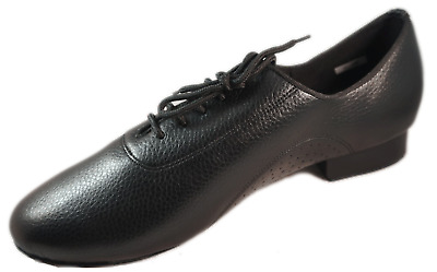 Teen, Boys, Men's Ballroom, Latin, Country Dance Shoes, 100% Genuine Leather