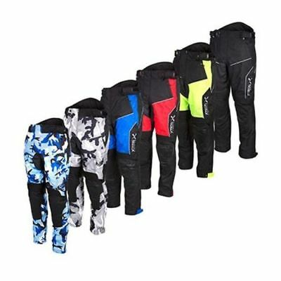 NEW!!! Motorbike Motorcycle Waterproof Cordura Textile Trousers Pants CE Armours