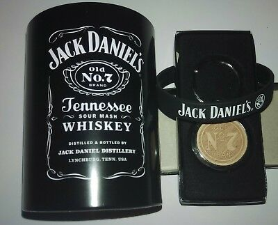 Jack Daniels Gift Pack Keyring Drink Stubby Can Cooler Old No.7 ~ Free Postage