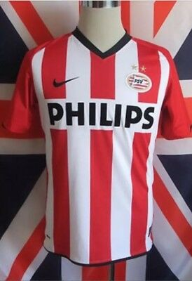 Nike PSV Eindhoven Home Football Shirt 2009/2010 Mens L Adult Size Large Holland