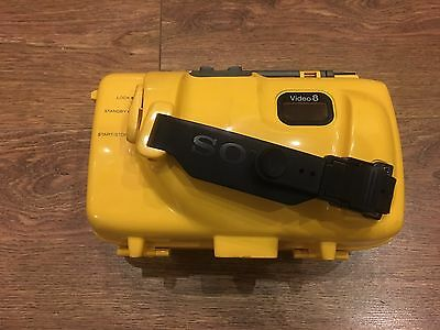 Sony Handycam Sports Pack Video 8 Spk-Tr Waterproof Case Cover - Boxed