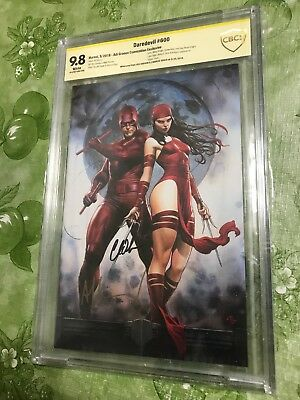 CBCS SS 9.8 DAREDEVIL #600 Virgin Variant Signed By GRANOV And SOULE Netflix