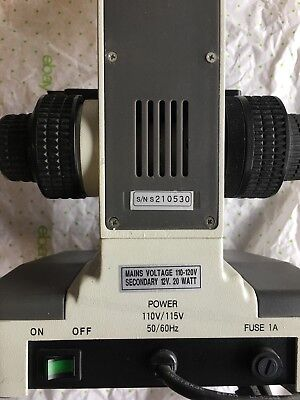 Koch Microscope with 4 Motic Objective Oil Lens S/N S210530 Motic B1 style