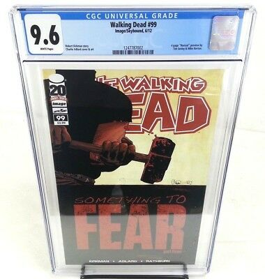 The Walking Dead #99 CGC 9.6 Something To Fear Part 3