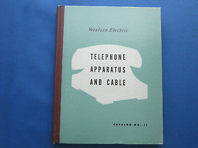 Western Electric Telephone Apparatus And Cable Catalog No. 11 With Box