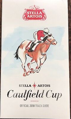 2018 Caulfield Cup Race Book