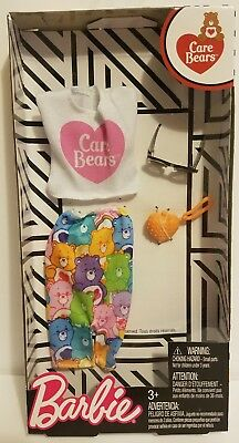 Gray Bear Ruffle Top NEW Barbie Care Bears Fashion Doll Outfit