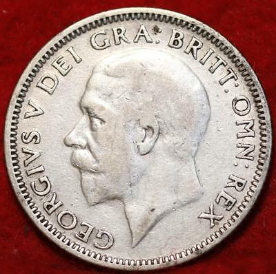 1932 Great Britain Shilling Silver Foreign Coin