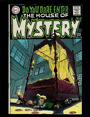House Of Mystery 178 F+ 6.5 Suspense Horror The Game Written And Drawn By Adams