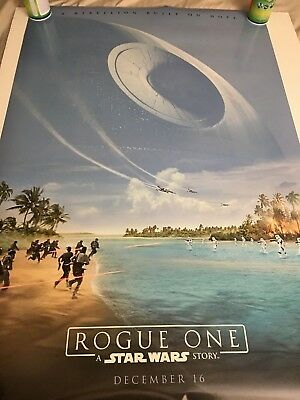 Star Wars Rogue One Advanced Teaser Double Sided DS 27x40 US Poster Version B