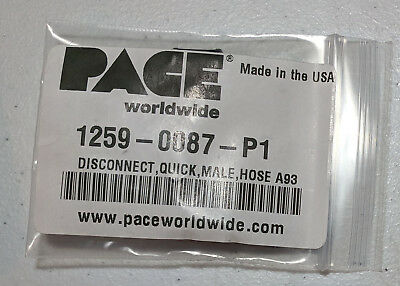 Pace 1259-0087-P1 Male Quick Disconnect Hose Fitting
