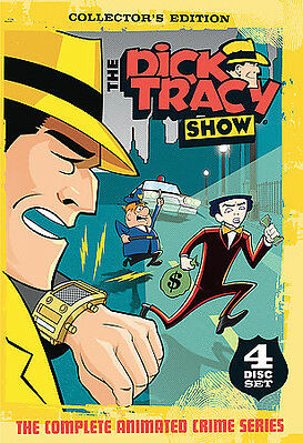Dick Tracy - The Complete Animated Series (DVD, 2006, 4-Disc Set)