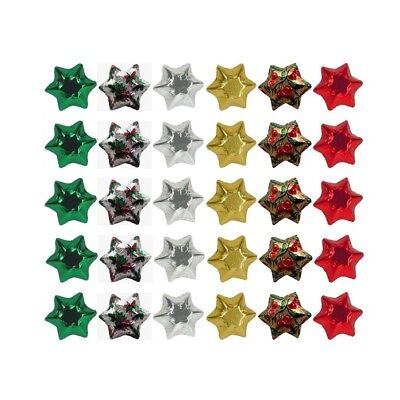 20-100 Pieces In Cadbury Chocolate Stars-Christmas Mix-Christmas Gifts Parties